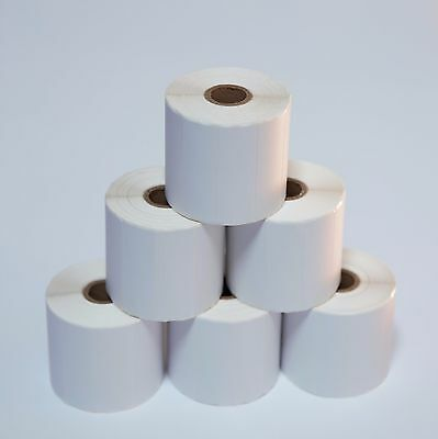 6 Rolls 3x1 Direct Thermal Shipping Labels - 1375/roll Zebra LP2844