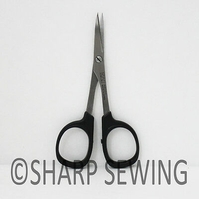 """Kai  4"""" Curved Blade Point Embroidery Needle Craft Quilter Scissors N5100C"""