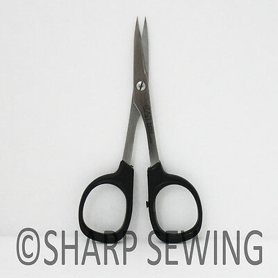 """Kai  4"""" Fine Point Straight Embroidery Needle Craft Quilter Scissors N5100"""