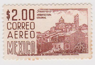 (MCO-327) 1950 Mexico 2p brown (B)