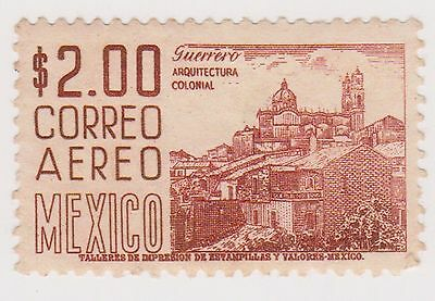(MCO-326) 1950 Mexico 2p brown (A)