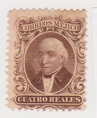 (MCO-3) 1864 Mexico 4R Brown HILDARGO MNG