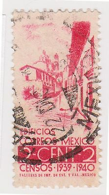 (MCO-256) 1939 Mexico 20c red building