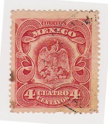 (MCO-79) 1899 Mexico 4c red
