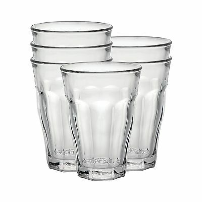 Duralex Picardie water glass 500ml without filling mark 6 Glasses