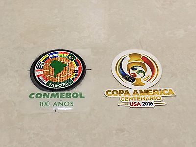 USA 2016 Conmebol 100 Anos Copa America Centenario Patch Badge Parche Remendo