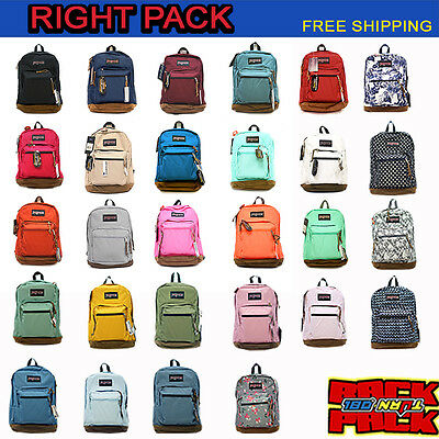 Jansport Right Pack Backpack Original 100% Authentic School Book Bag 2016 Color