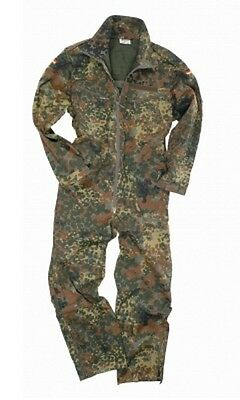 Bundeswehr German Army Panzerkombi flecktarn Kombi w Thermo Winter Futter