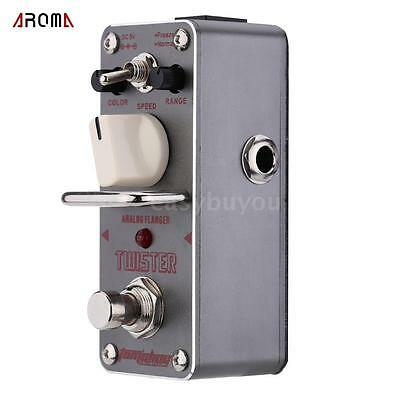 AROMA ATR-3 Twister Analog Flanger Electric Guitar Effect Pedal+True Bypass U3Y4