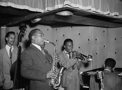 Miles Davis Charlie Parker Potter & Max Roach Three Deuces Jazz Photo Print A4