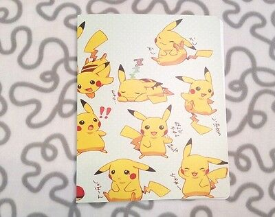 LIMITED ! Pikachu Collection 324 Pokemon cards Album Book List holder pokemon