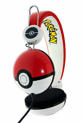 POKEMON Headphones - Poke Ball Headphones (for ages 7 years and over)