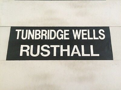 "Southdown & Sussex Bus Blind 31""- Tunbridge Wells Rusthall"