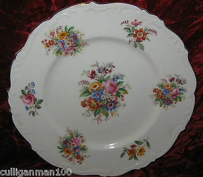 "1 - Coalport Fragrance 10 3/4"" Dinner plate (2015-186)"