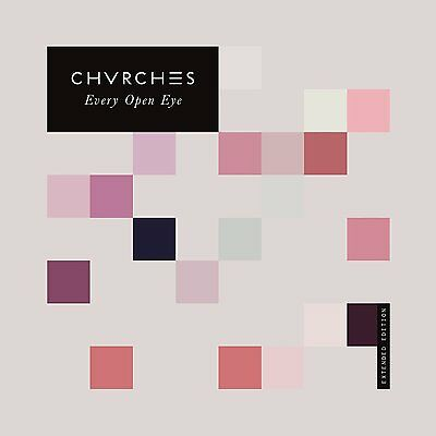 Chvrches Every Open Eye: Deluxe Extended Edition Cd 2016