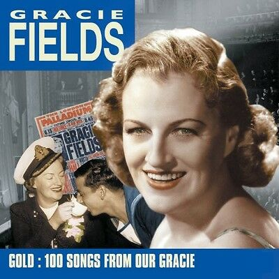 Gold-100 Songs From Our Gracie - Gracie Fields (2010, CD NIEUW)5 DISC SET