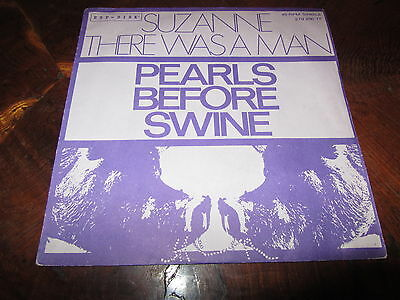 PEARLS BEFORE SWINE SUZANNE Very Rare Italy Issue 1968 US Psych Garage 45 Nice