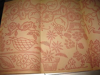 IO-468 WORKBASKET Embroidery pattern-TEA TOWEL DESIGNS-FRUITS /& VEGETABLES