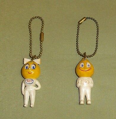 ESSO Boy & Girl Keychain Lot