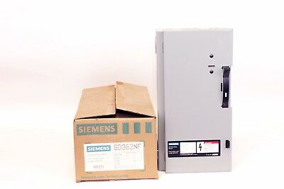 Siemens GD362NF  60 Amp, 3 Phase, 600V, Non-Fusible Disconnect Switch