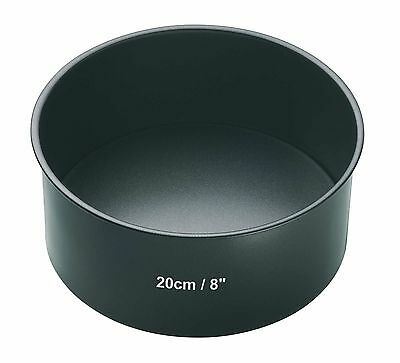 "Master Class Non-Stick Deep Round Cake Tin With Loose Base 20 cm (8"")"