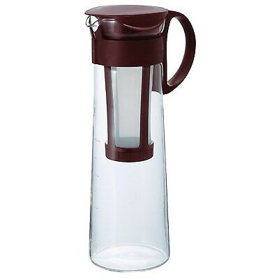 Hario 1000 ml Mizudashi Cold Brew Coffee Pot Brown Large