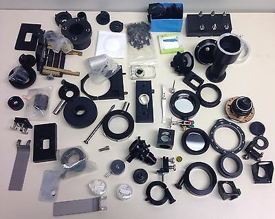 *Assorted Optics-Lenses,Mirrors,Holders ect...