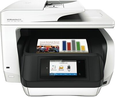 NEW HP D9L19A OfficeJet Pro 8720 All-in-One