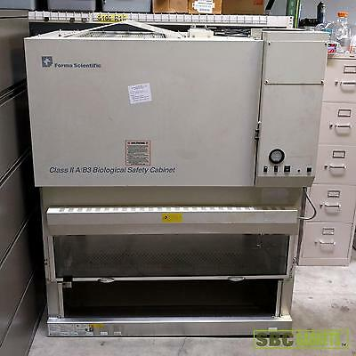 Forma Scientific 4-ft Class II Type A/B3 Biological Safety Cabinet (Model: 128)