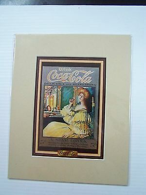Coca-Cola Reproduction Matted Print - NEW  CC-8  FREE SHIPPING