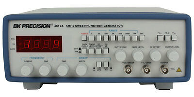 BK Precision 4012A 5MHz Function Generator 110-220VAC  US Authorized Dealer/ NEW