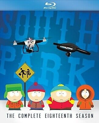 South Park: The Complete Eighteenth Season - 2 DISC SET (2015, Blu-ray NEW)