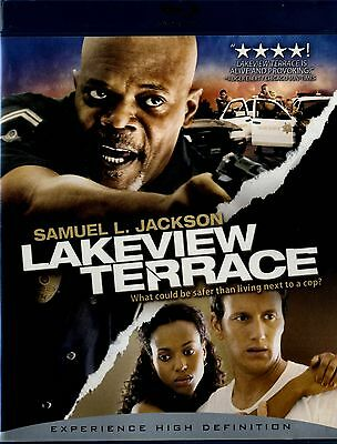 USED BLU-RAY//  LAKEVIEW TERRACE // Samuel L. Jackson, Patrick Wilson, Kerry Was