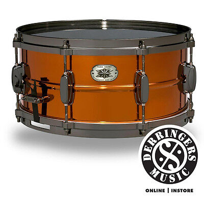 "Tama Metalworks Steel Snare 14x6.5"" - Copper Lacquer"
