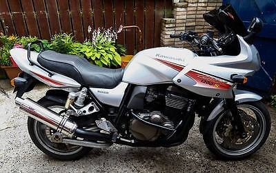 Kawasaki ZRX1200S Stainless Round GP Outlet Road legal / Race MTC Exhaust