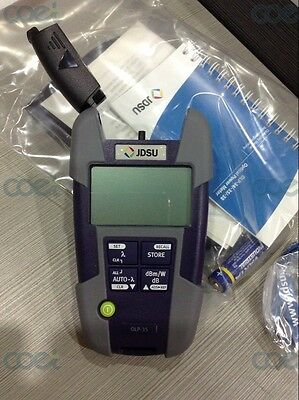 JDSU Acterna OLP-35 SM MM Fiber Optic Power Meter for FTTH Cable Tester