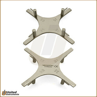 Orthodontic Star Boone Gauge Bracket Positioner For Incisal Occlusal Surface