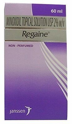 1 X 60ml REGAINE MINOXIDIL2% (1-MONTH SUPPLY)  FOR WOMEN HAIR TOPICAL SOLUTION