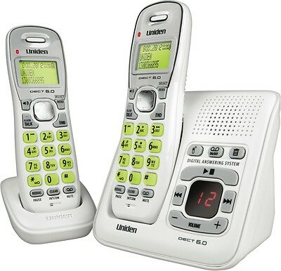 NEW Uniden DECT1635+1W Cordless Phone Twin Pack