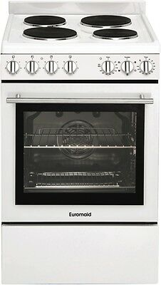 NEW Euromaid GG54SSW 54cm Electric Upright Cooker