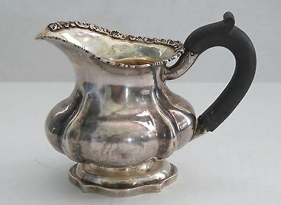 ANTIQUE  1845 Moscow Andrey Kovalsky  Russian Silver Creamer 84 clear Marks