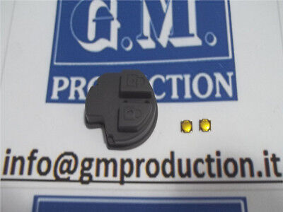 BUTTONS GROMMET spare parts for remote control Key FIAT 16 SEDICI E 2 SWITCHES