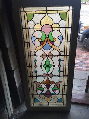 Sg 807 Antique Jeweled Landing Window