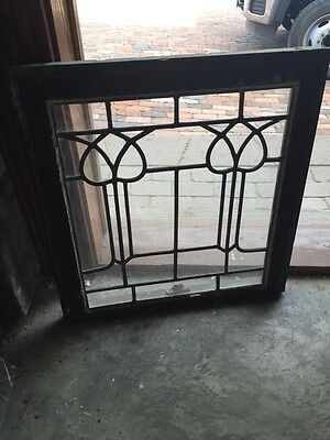 Sg 809 4 Available Priced Separate Antique Leaded Window