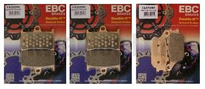 Yamaha MT-07 ABS 2014-2015 Set of EBC Sintered HH Front and Rear Brake Pads