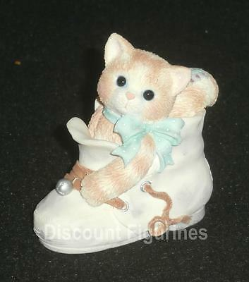 Calico Kittens Enesco Celebrate Every Baby Step Figurine #314528 NEW IN BOX