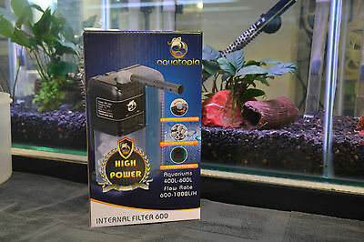 Aquatopia 600 Internal Filter - 600/1000LPH Aquarium Fish Tank FREE FREIGHT