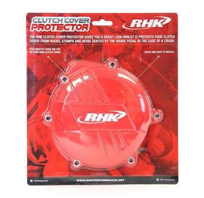 Honda Crf450R 2009 - 2016 Rhk Clutch Cover Protector Red
