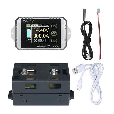 DC 400v 100A wireless capacity Voltage Power Meter Coulomb Counter Display