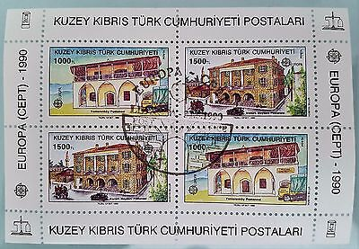 Turkey Republic Northern Cyprus Sc # 270a Souvenir Sheet Mint Stamps Collection